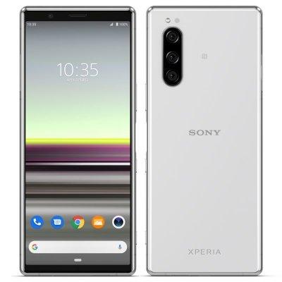 画像1: Sony Xperia 5 128GB SIMフリー グレー