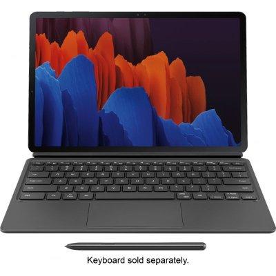 """画像1: Samsung Galaxy Tab S7+ 12.4"""" 256GB Wi-Fi and Keyboard Cover  (US Model) Mystic Black"""